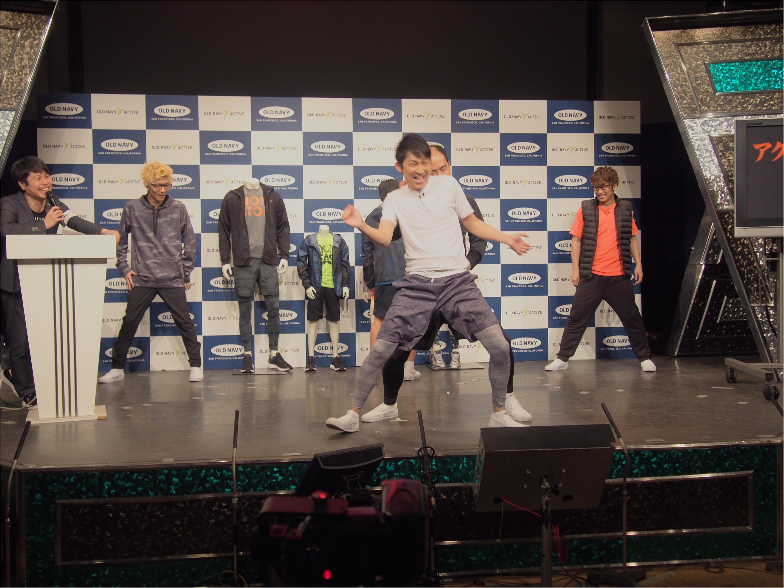 エグスプロージョン&トレンディエンジェルがダンスで魅せる! 『OLD NAVY』アクティブウェアが日本初上陸☆_6
