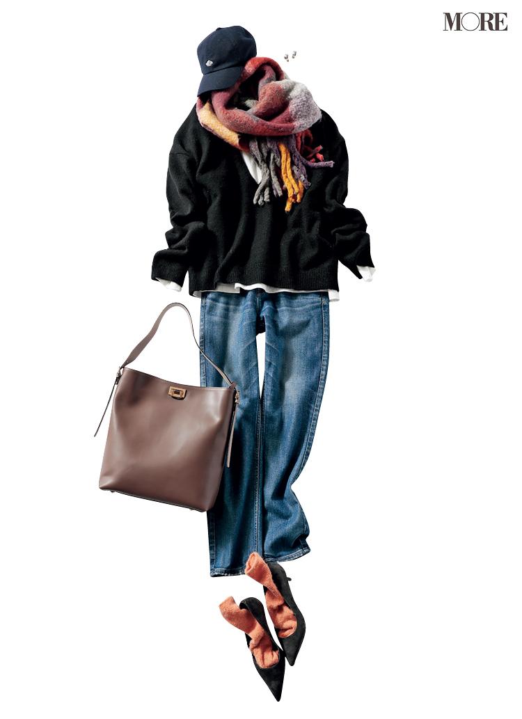 【着回しまとめ】12/19(土)〜12/27(日)の井桁弘恵主演『イージーパンツでノンストレスコーデ』着回し全部見せ!_1_6
