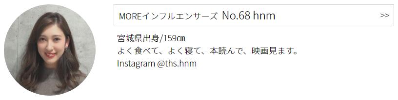 インフルエンサーズ No.68 hnmのプロフィール