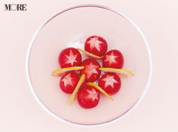 【作りおきお弁当レシピ】にんじん・パプリカ・ミニトマトなど、赤とオレンジ色の野菜でおかず6品! 簡単で、彩り華やかに