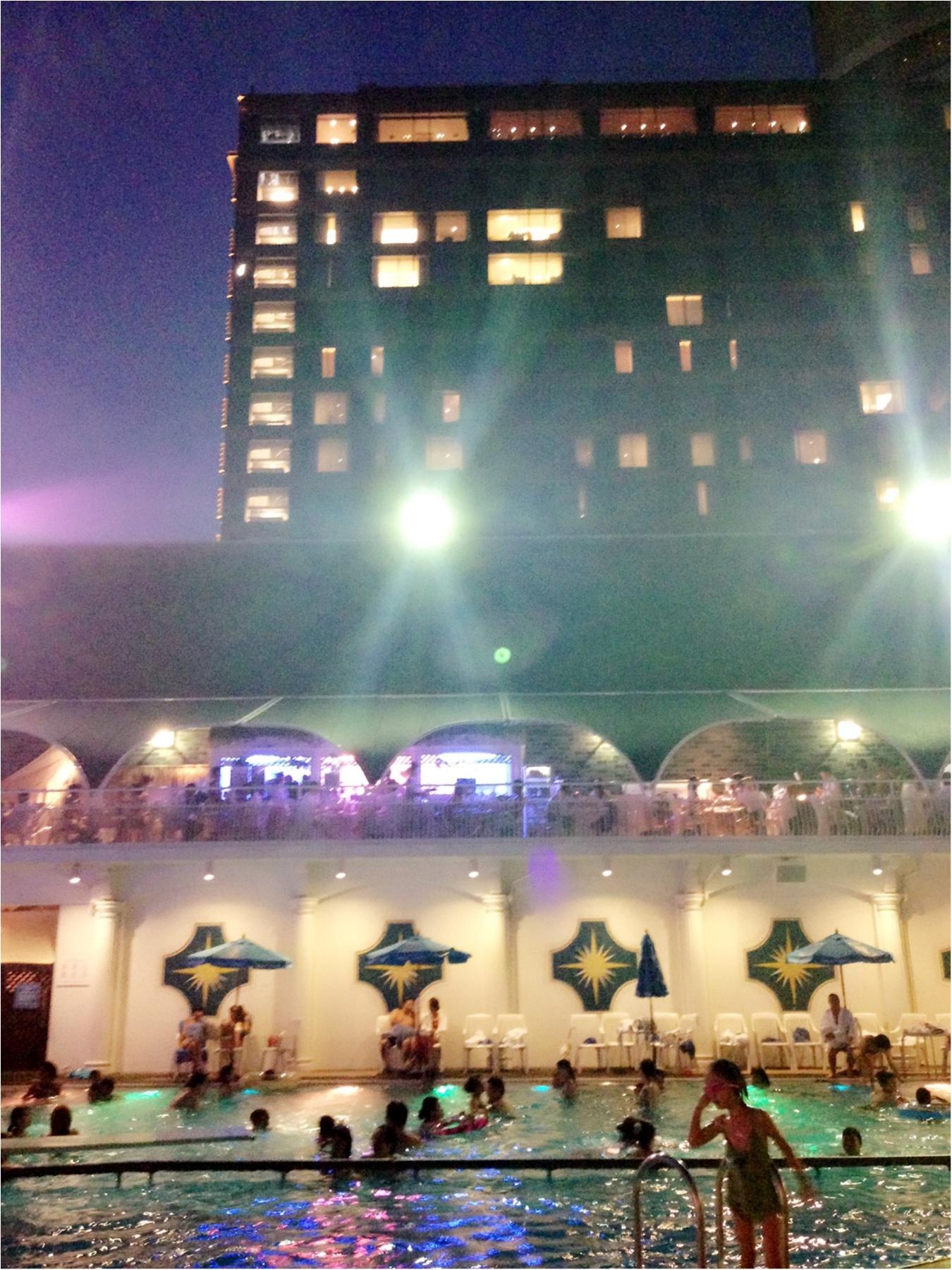 …ஐ 大人の楽園SUMMER༓【ホテルニューオータニナイトプール】で大人贅沢な時間を༓ஐ¨_1