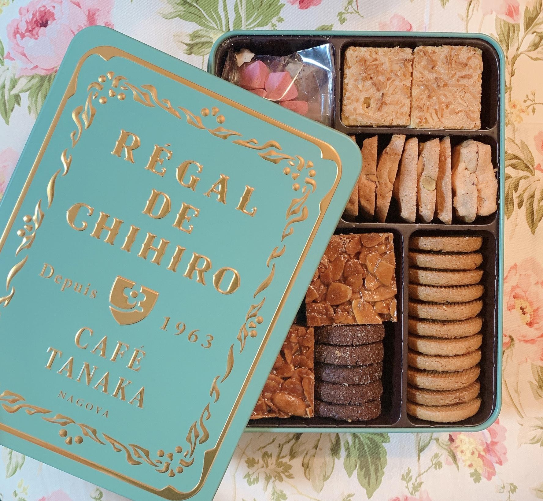 【名古屋】予約が中々取れない!?カフェタナカ クッキー缶 REGAL DE CHIHIRO【おもたせ お土産】_1