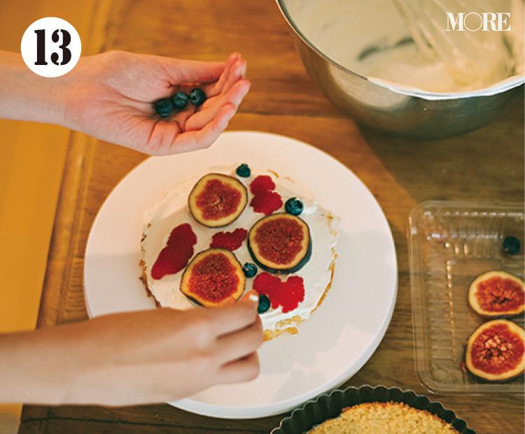 おしゃれでかわいいクリスマス用のショートケーキ作りに挑戦! レシピも要チェック【佐藤栞里のちょっと行ってみ!?】_14