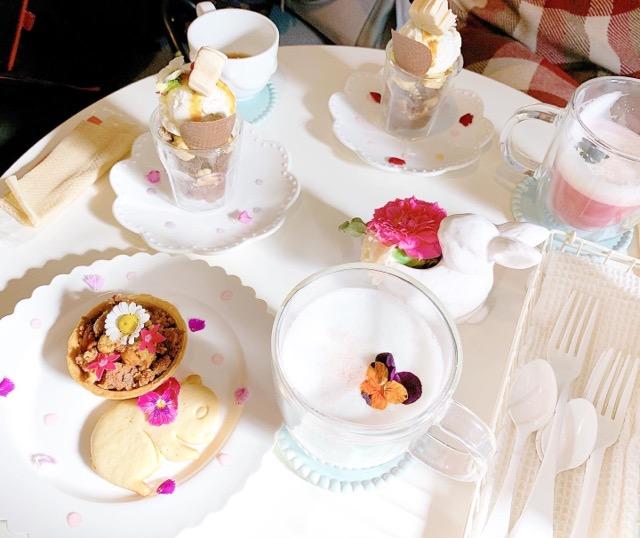 【吉祥寺カフェ巡り】オープンは週末だけ!?『みずいろの花』が可愛すぎる♡_4