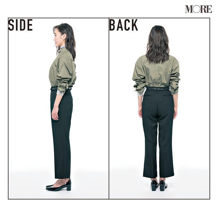 """普通の黒パンツとは違う! """"美脚""""の黒、なら『シンゾーン』と『ジーナシス』。この2本のパンツがよき♡_7"""