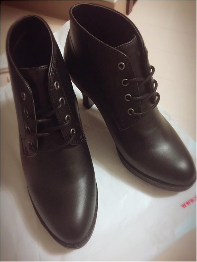 ♡ユニクロでショートブーツが驚きの価格990円!!今がとってもお買い得!!♡_1