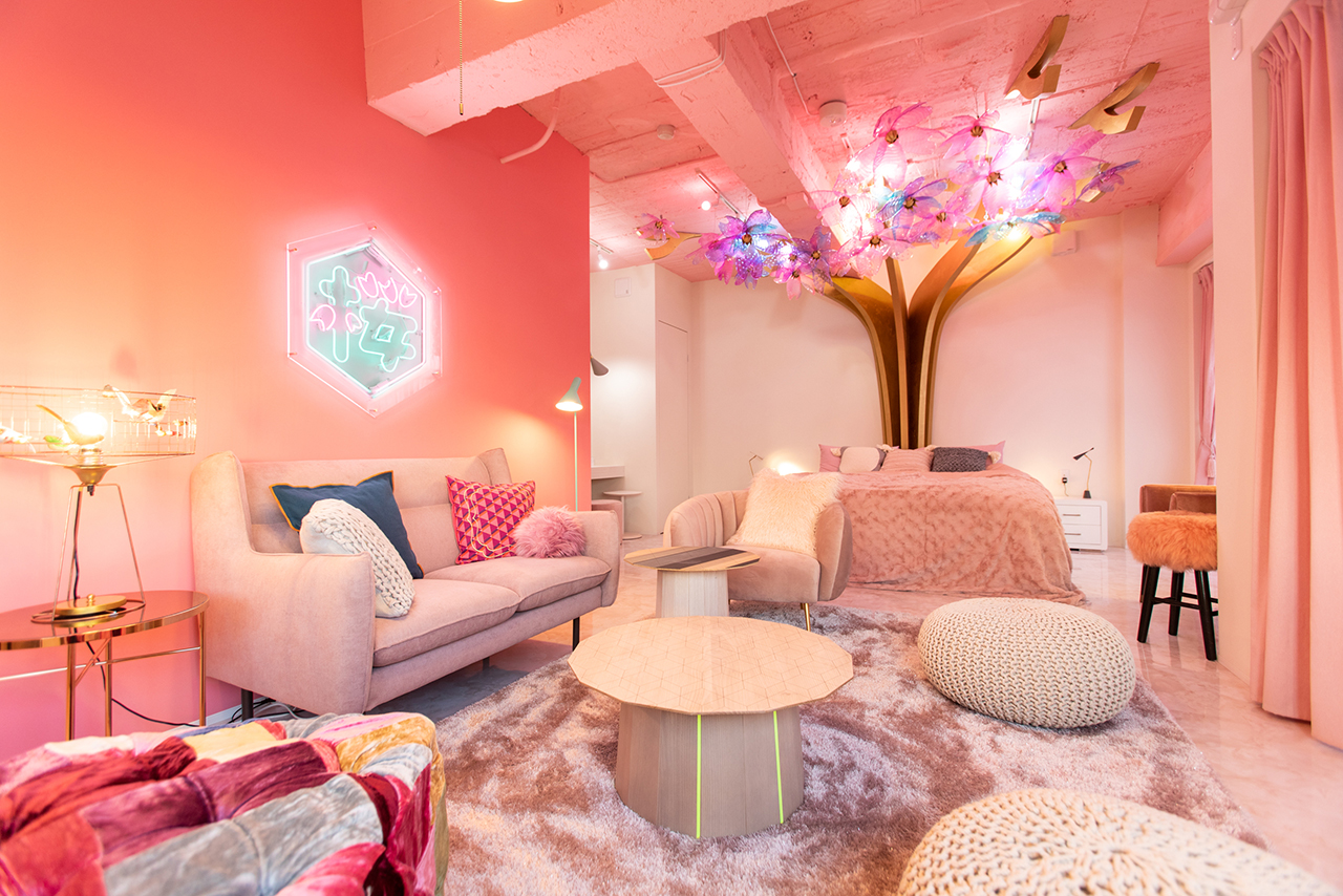 原宿『MOSHI MOSHI ROOMS』の「Kawaii caltural room!! in harajuku」で、お泊り女子会したすぎる件♡【#桜 2019 4】_1