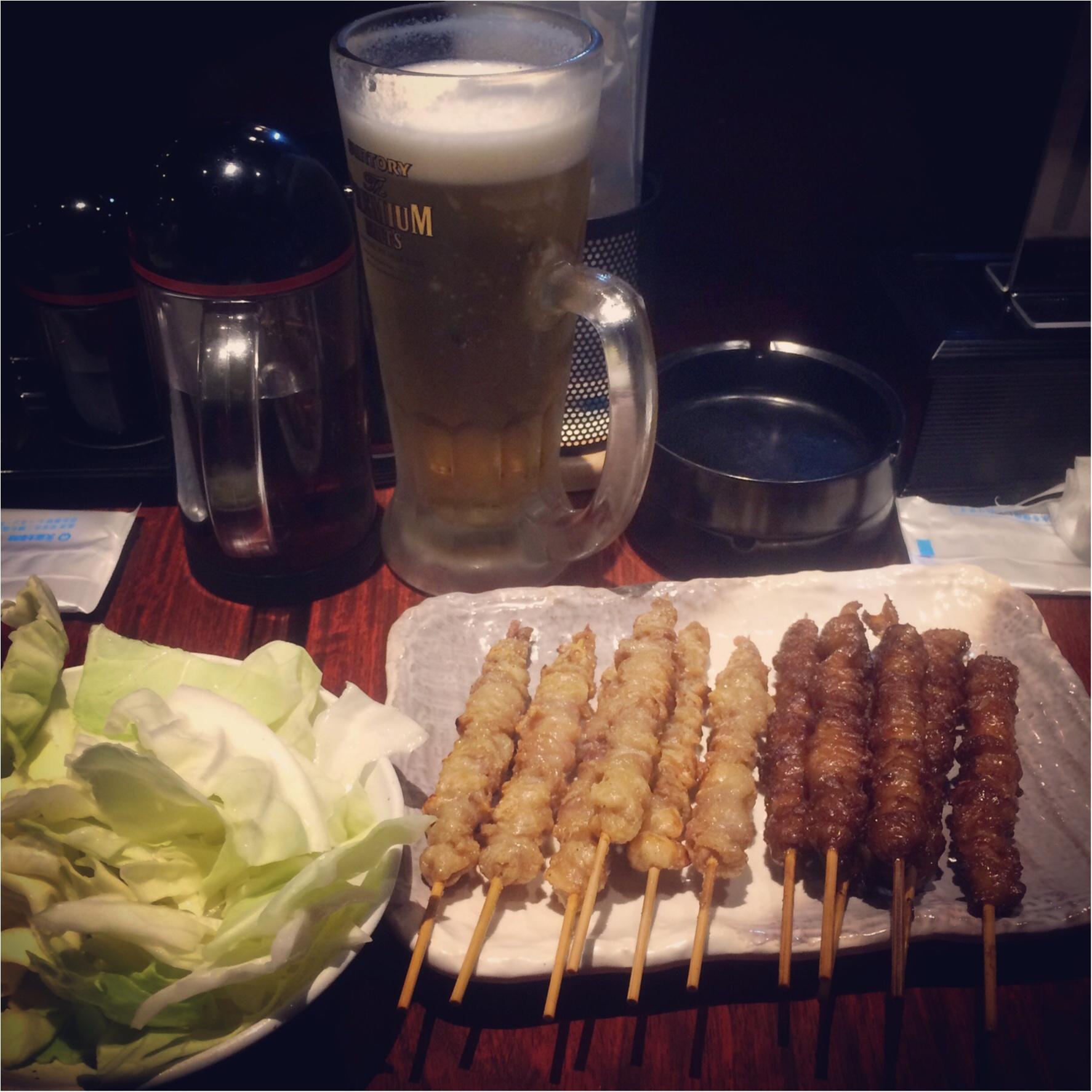 福岡♡オススメグルメ♡ふわふわひんやりカキ氷!とパリパリカリカリ鶏皮!_4