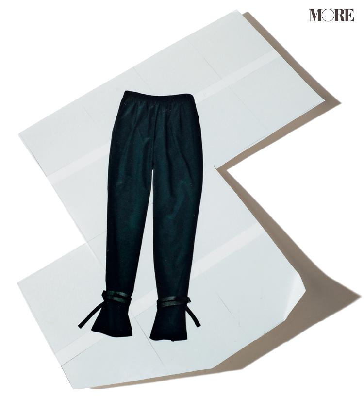 ライター鈴木絵美さん推薦 HYKEの裾しぼりパンツ
