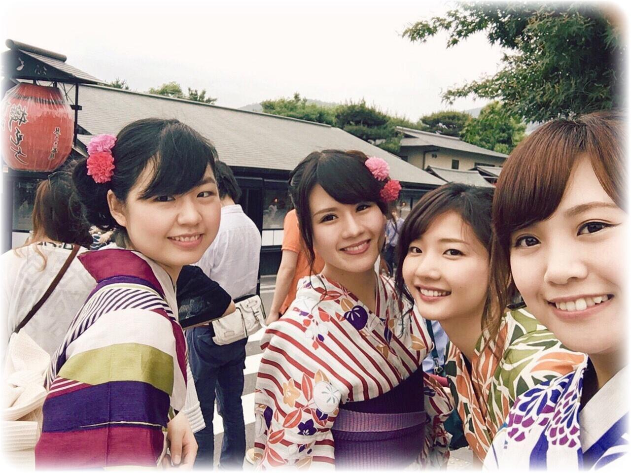 浴衣で京都❀(*´v`*)❀ ♡sayachim♡_8