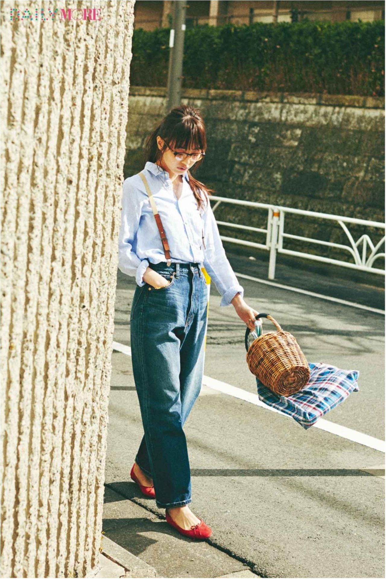 """""""春""""から取り入れるのが上級者♪ 今年らしい『かごバッグのコーデ』まとめ♡ _1_9"""