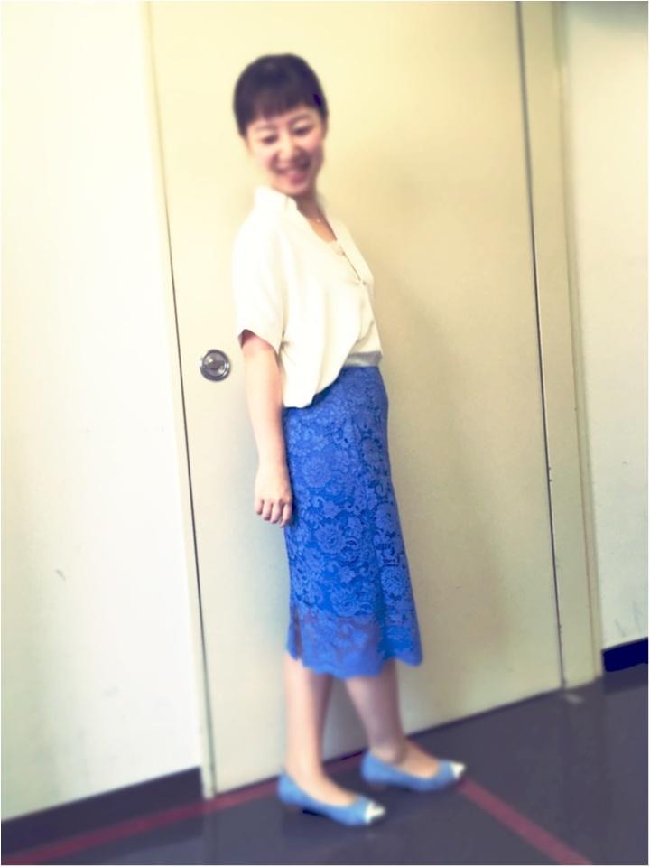 今年キテマス!レーススカート【新色★GU】オフィスでもみんなの定番!_3