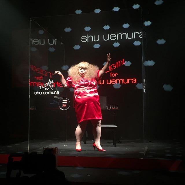 シュウ ウエムラ×渡辺直美さんのイベント「naomi for shu uemura エクスクルーシブプレゼンテーション」に行ってきました♡_1