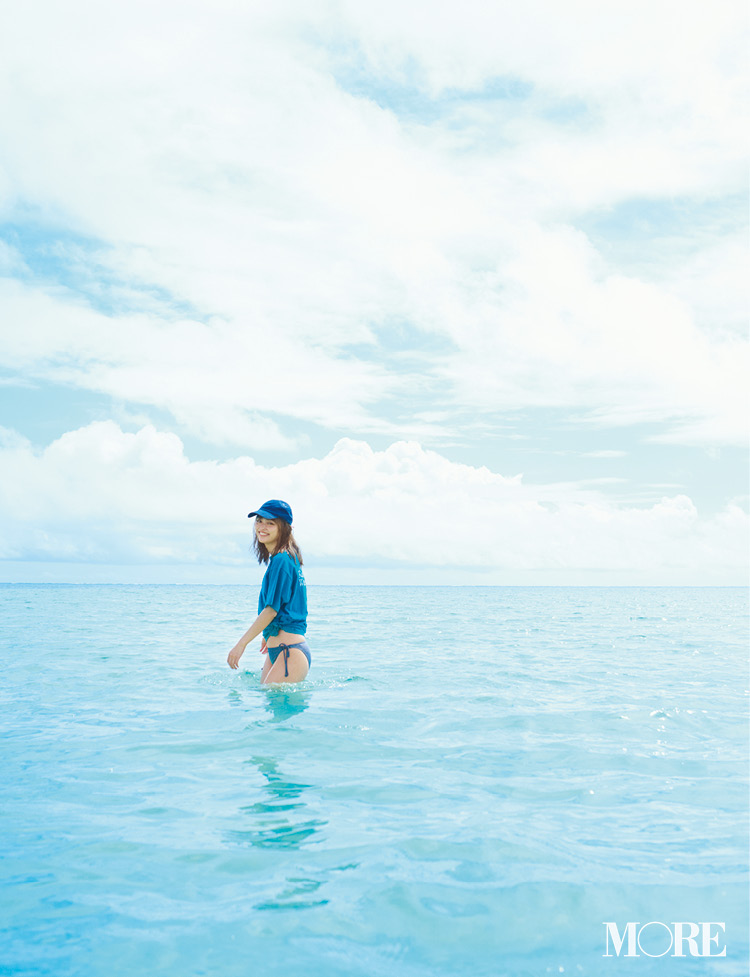内田理央が提案。ハワイの海がもっと楽しくなる、絶景と水着♡_2