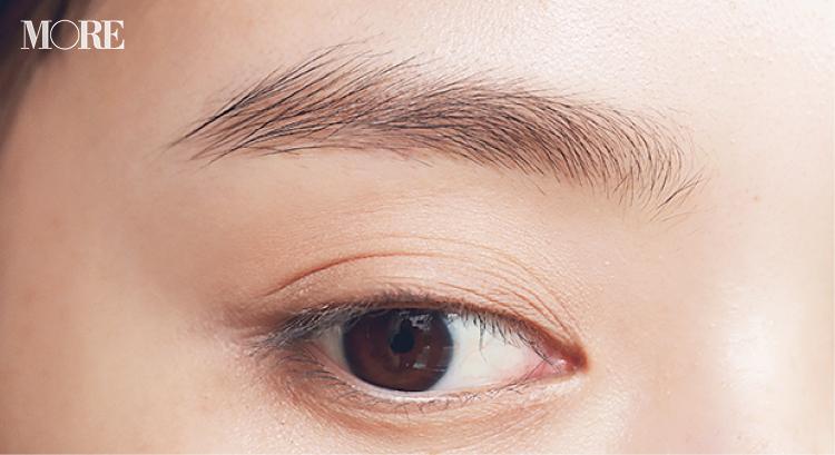 眉でデカ目を作るテク、教えます。アイブロウリキッドで地毛のような「1㎜接近眉」に♡ 『インテグレート』『セルヴォーク』がおすすめ_1