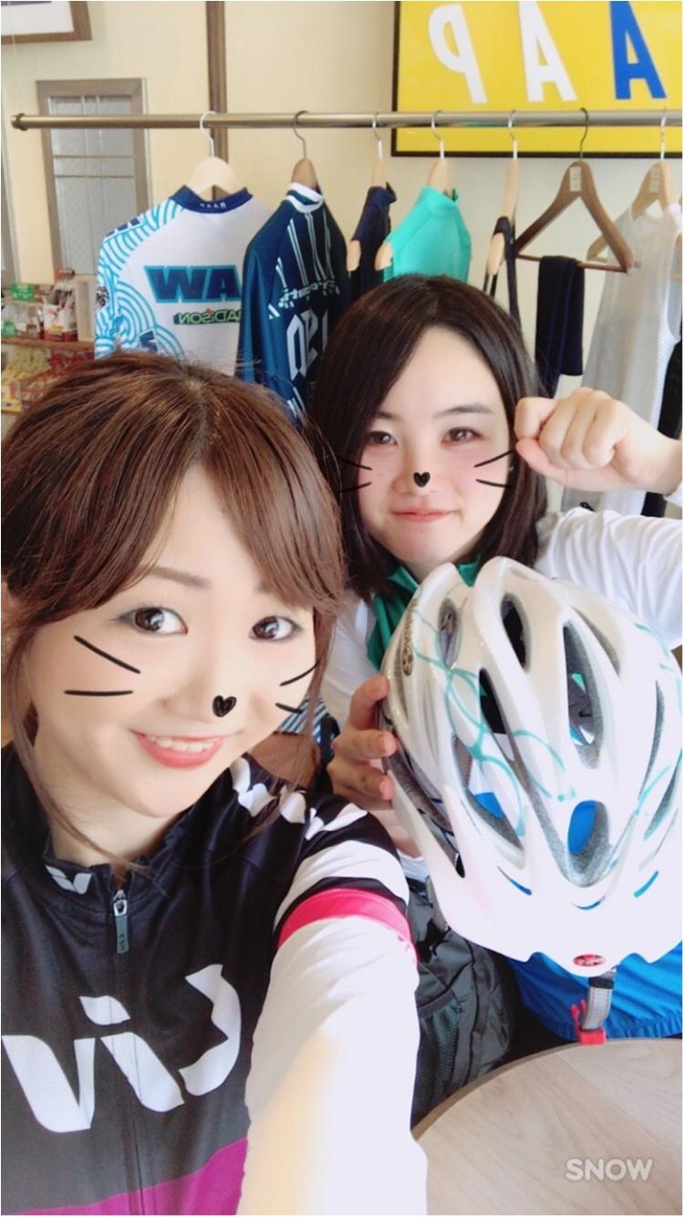 練習withさえちん!ロードバイクで都内御朱印巡り♪ #ツール・ド・東北【#モアチャレ あかね】_1