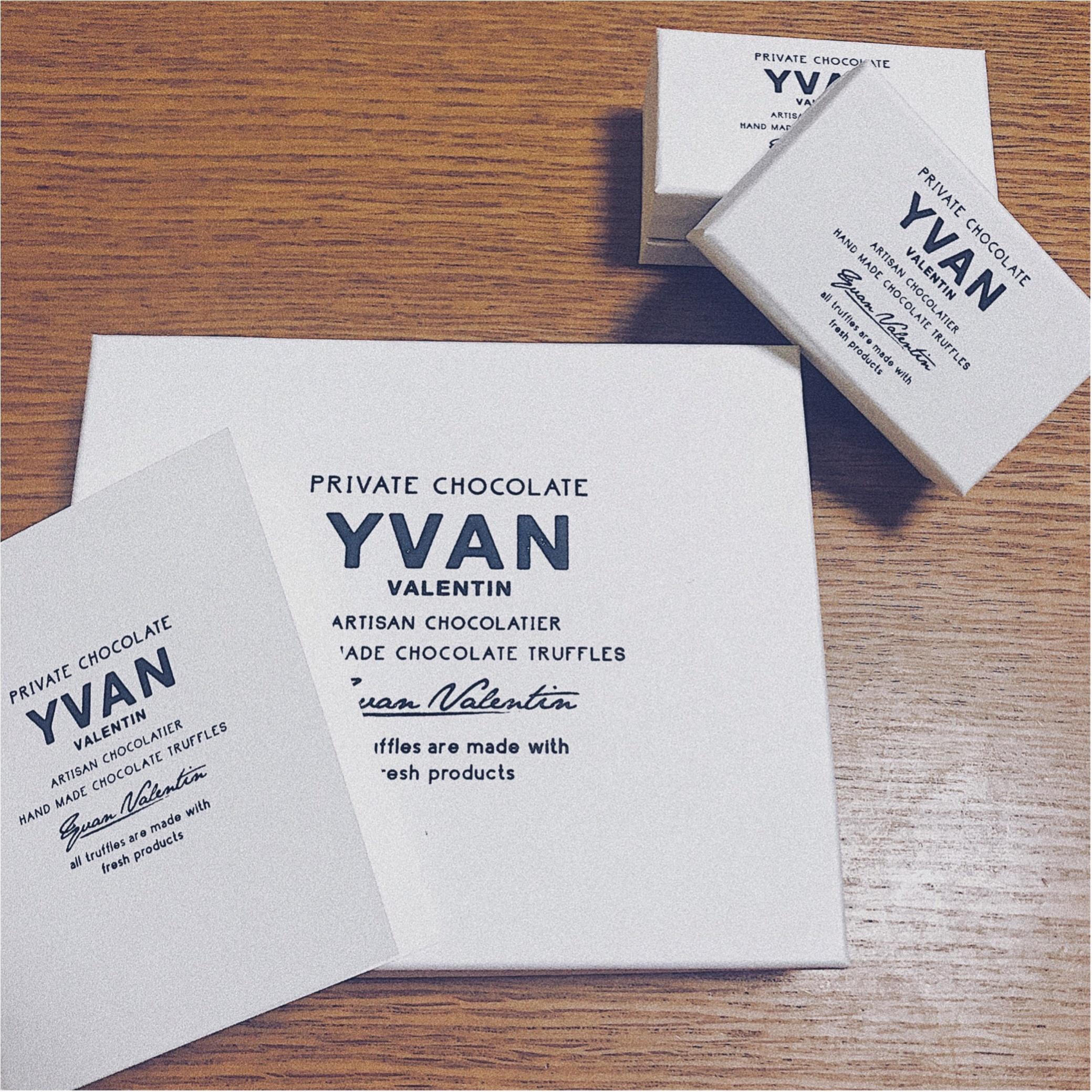 【特別バレンタイン】第2弾!やっと買えた今しか買えない幻のチョコレート《YVAN VALENTIN》ゲットしました♡♡_1