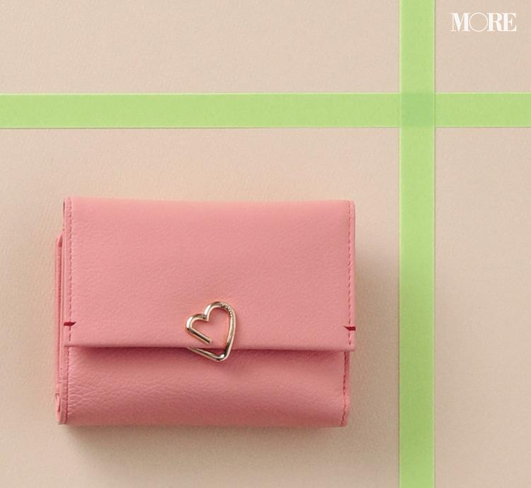 お財布で2020年の恋愛運もアップ!? ピンク&ベリー色の大人可愛い二つ折り財布3選_1