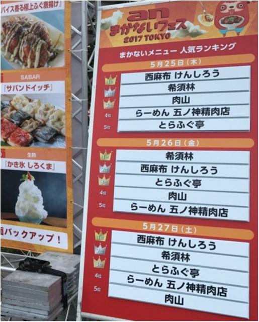 【anまかないフェス2017】人気店の「まかない飯」が全てワンコイン★_4