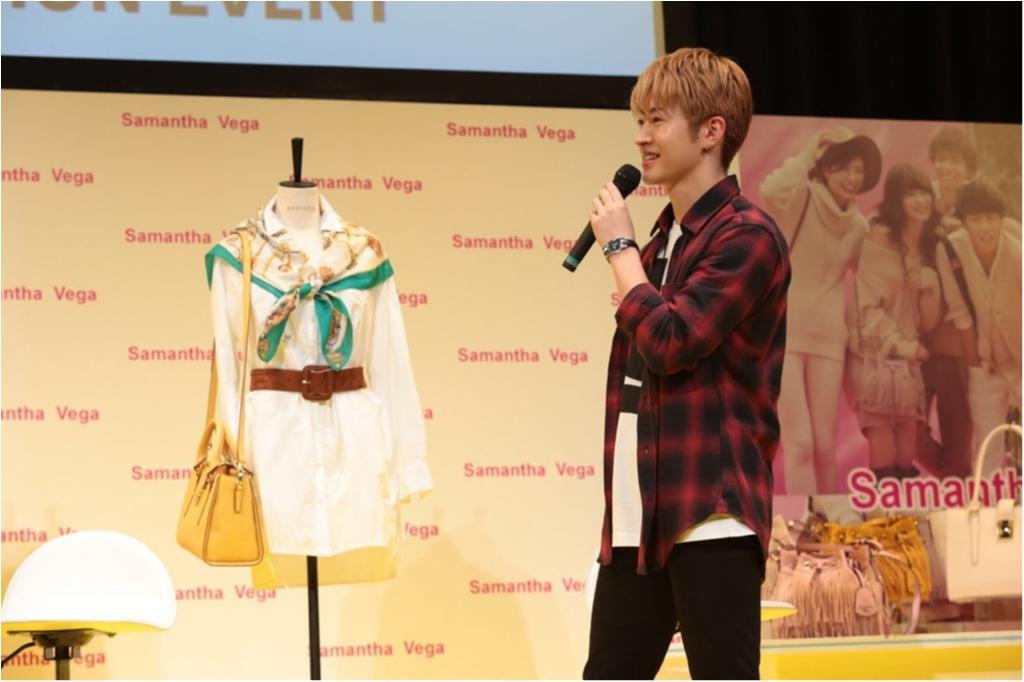 『サマンサベガ』新CMイベントにGENERATIONS from EXILE TRIBEが登場!_3