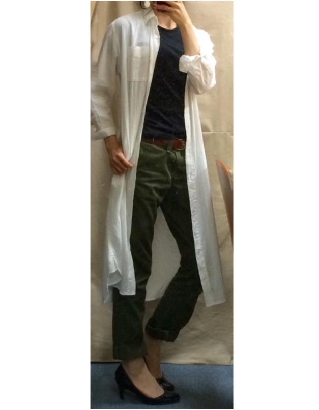 Coordinate...優秀☆ユニクロのスーピマコットンTシャツ_3