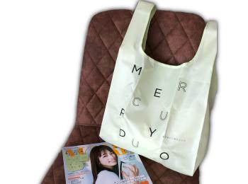 【MORE7月号】絶対買うべき!マーキュリーデュオのエコバッグが可愛い♡