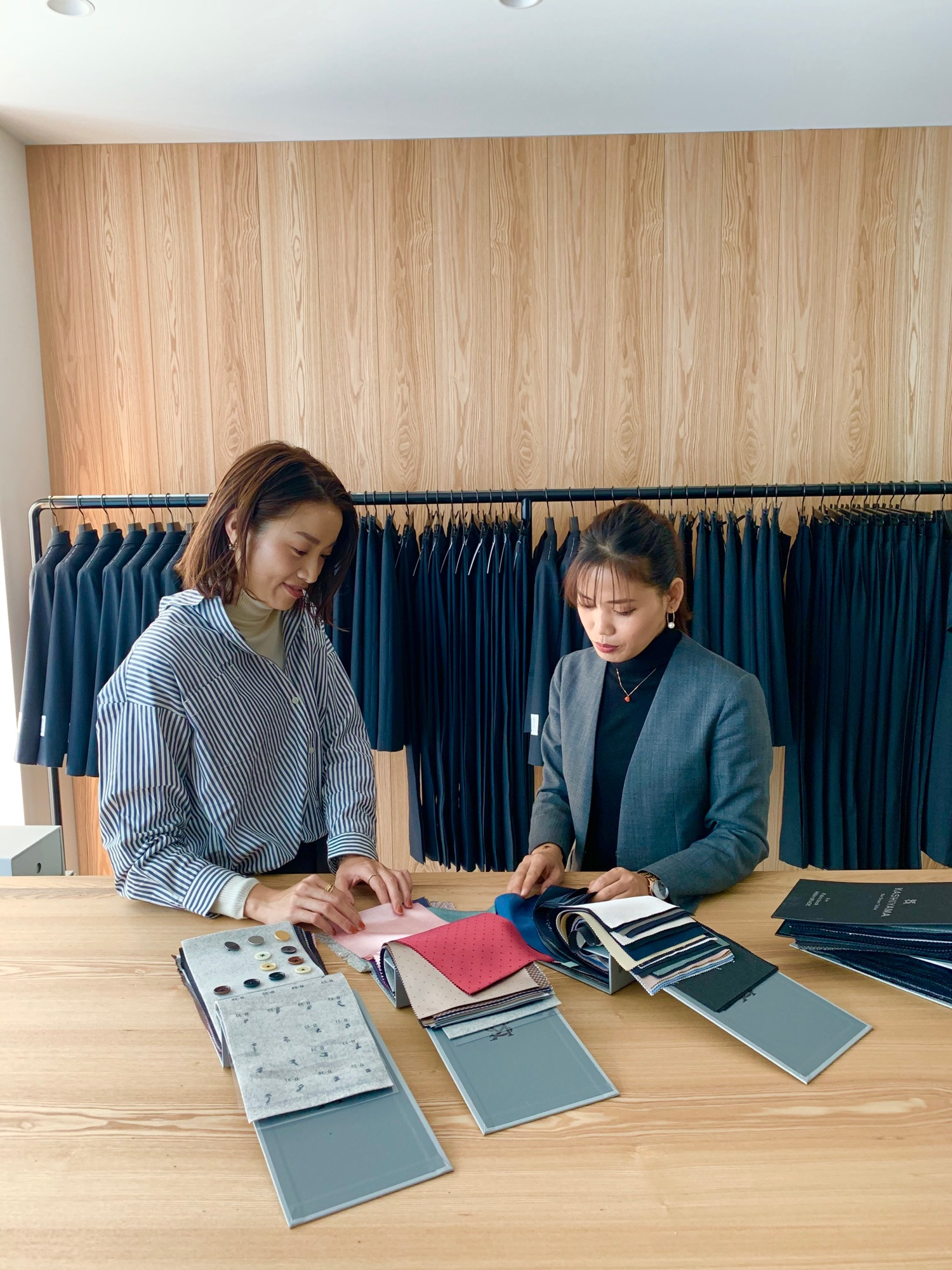 CMで話題沸騰中❤️《そのスーツ、どこの?》【KASHIYAMA the Smart Tailor】でオーダーメイドスーツ&シューズを作りました☻_3