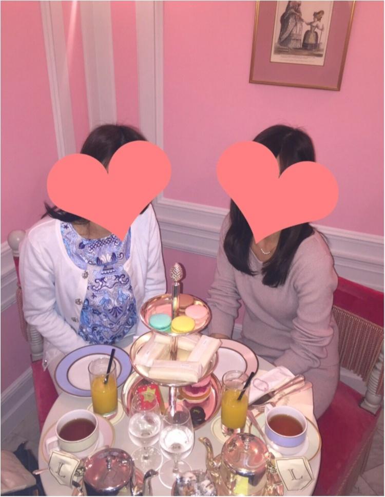 【FOOD】ほんとうは教えたくない!! 銀座LADURÉEの最強かわいいピンクの小部屋♡_4