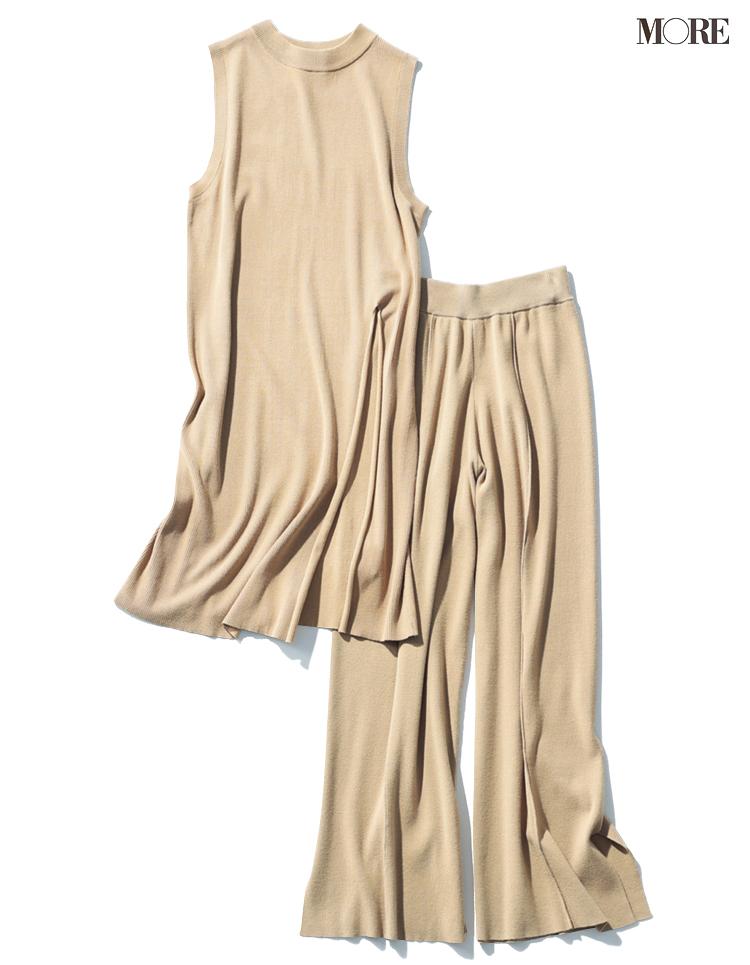 自宅で洗える服、マシンウォッシャブル服大賞のコトリカのニットセットアップ