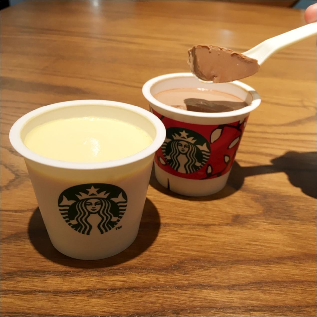もう食べた?韓国で大人気のスターバックスのプリンが日本にやってきた♡_5