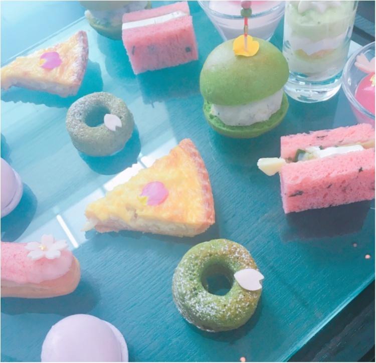 《春爛漫♡!》コンラッド東京で開催中の桜アフタヌーンティーで一足早いお花見を♡_1