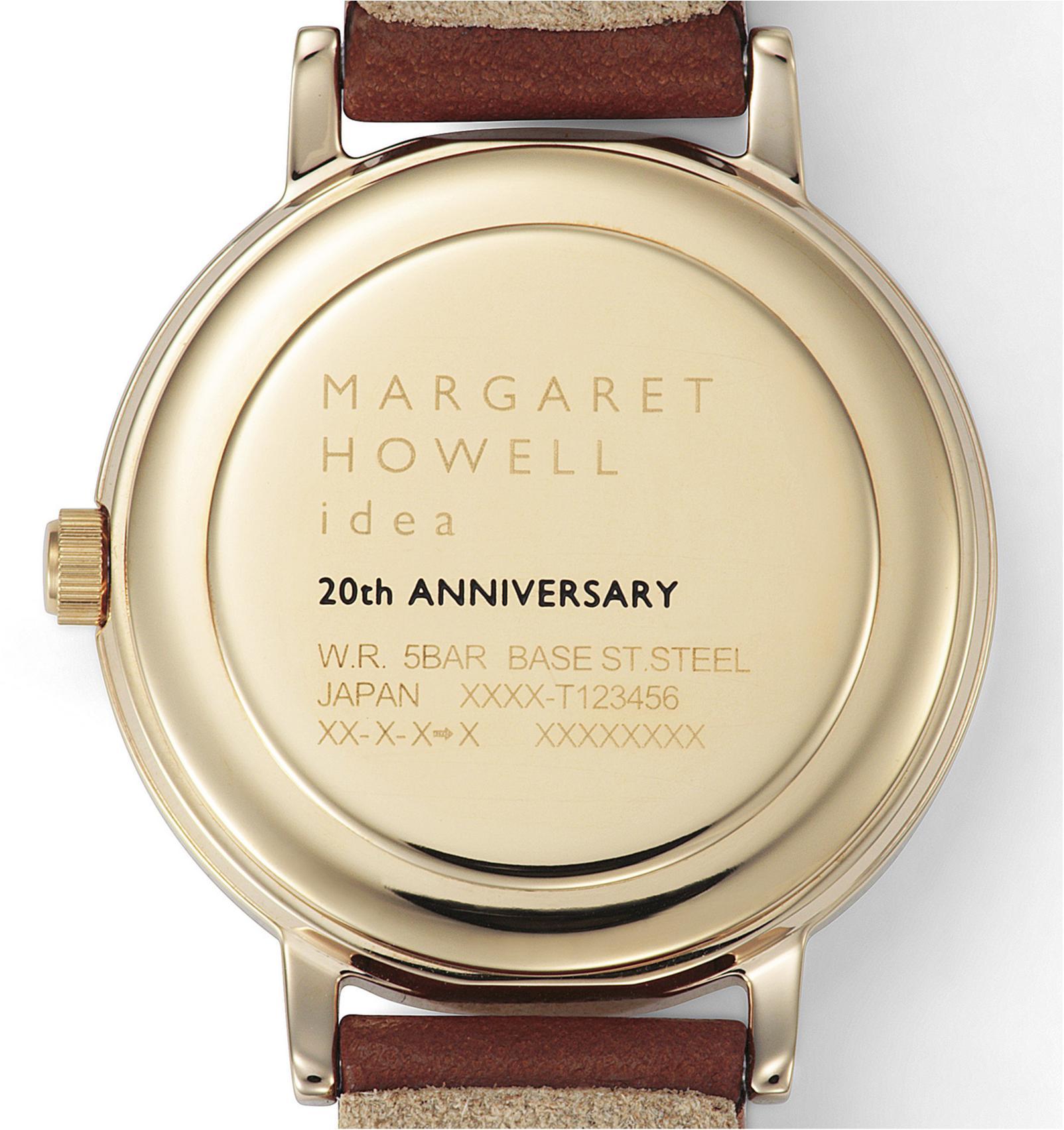 ウオッチ誕生20周年☆ 『マーガレット・ハウエル アイデア』の記念モデルで大人な手元に_2