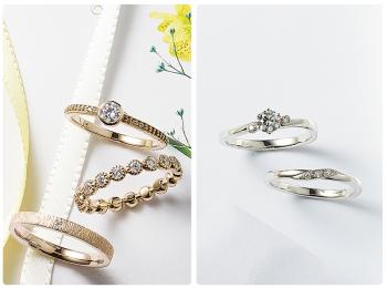 結婚指輪のおすすめブランド特集 - スタージュエリー、4℃、ジュエリーツツミなどウェディング・マリッジリングまとめ