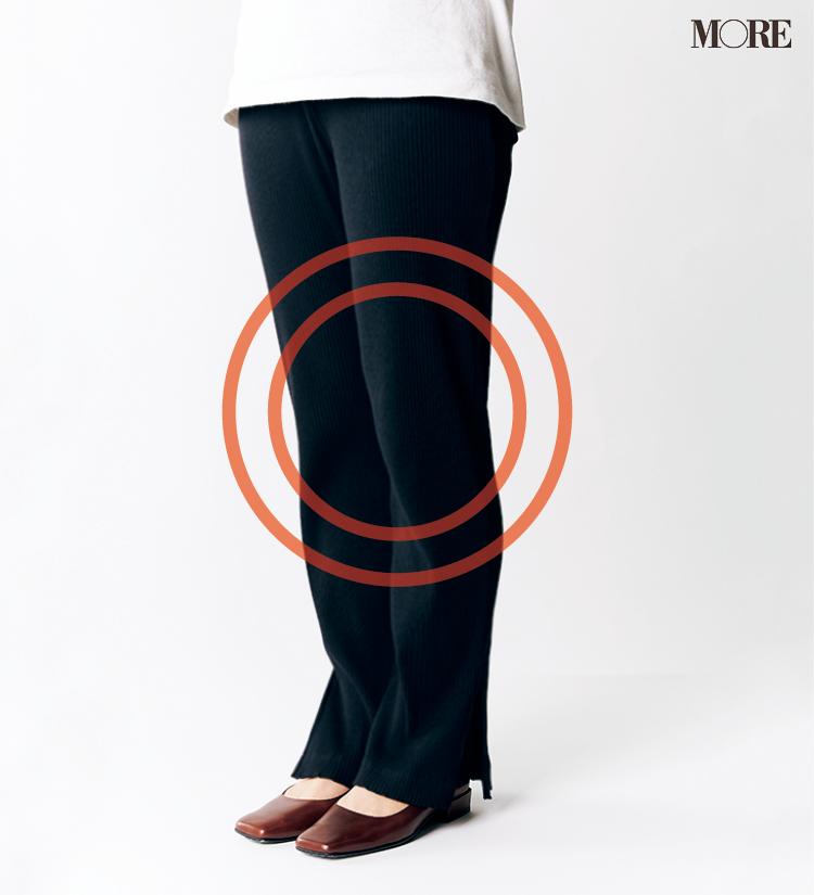 テーパードパンツ&フレアパンツ、どの靴と合わせるのがいちばんきれい? 全部の相性比べてみました!_6_1