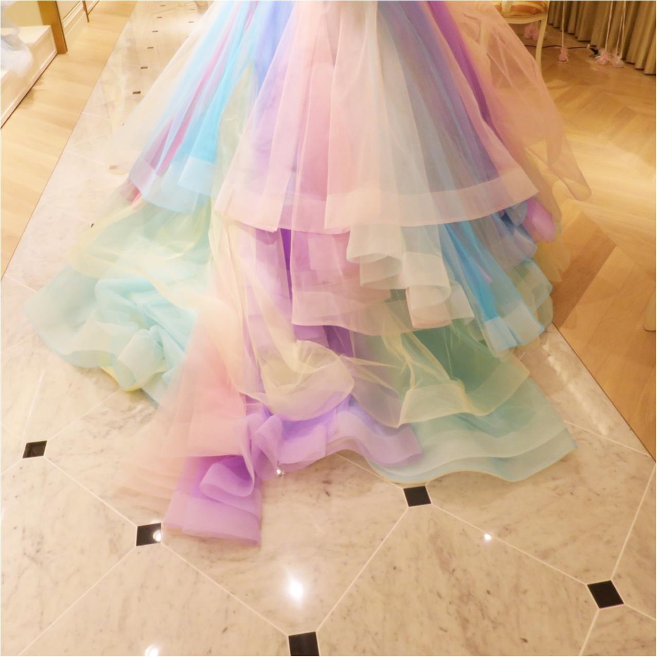 【Wedding】ウェディングドレス《 THE HANY(ザハニー) 》で人気No.1のレインボードレスがかわいすぎる♡_4