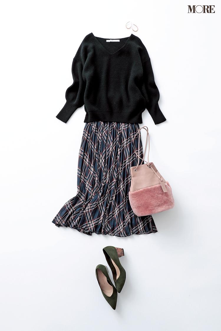 【2020年版】冬ファッションのトレンド特集 - 20代女性の冬コーデにおすすめのニットベストなど最旬アイテム・カラー・柄まとめ_69