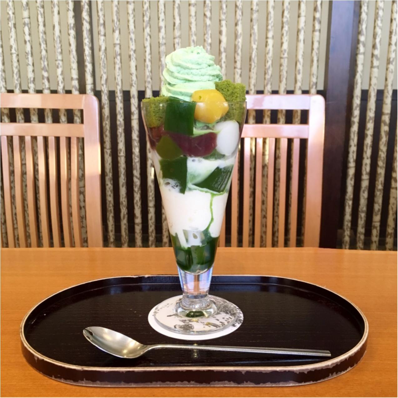 """""""カフェ好きな私のオススメ♡ """"京都で食べたい♡絶品 !『 抹茶スイーツ 』はいかが?_2"""
