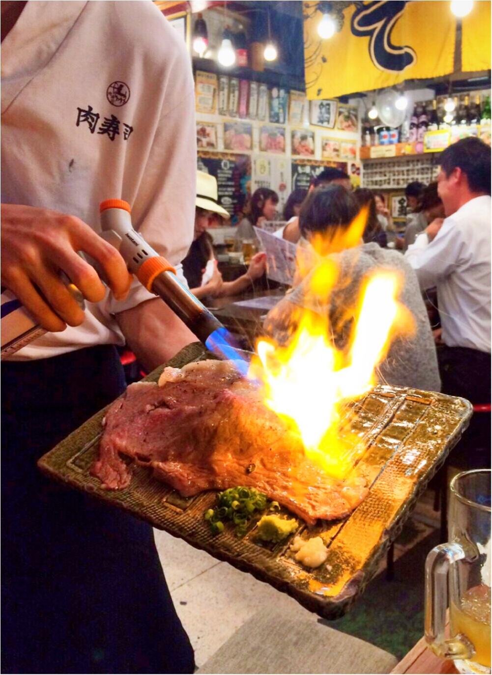 お肉好きなら必見!!恵比寿横丁の肉寿司へ行ってきました♡_2