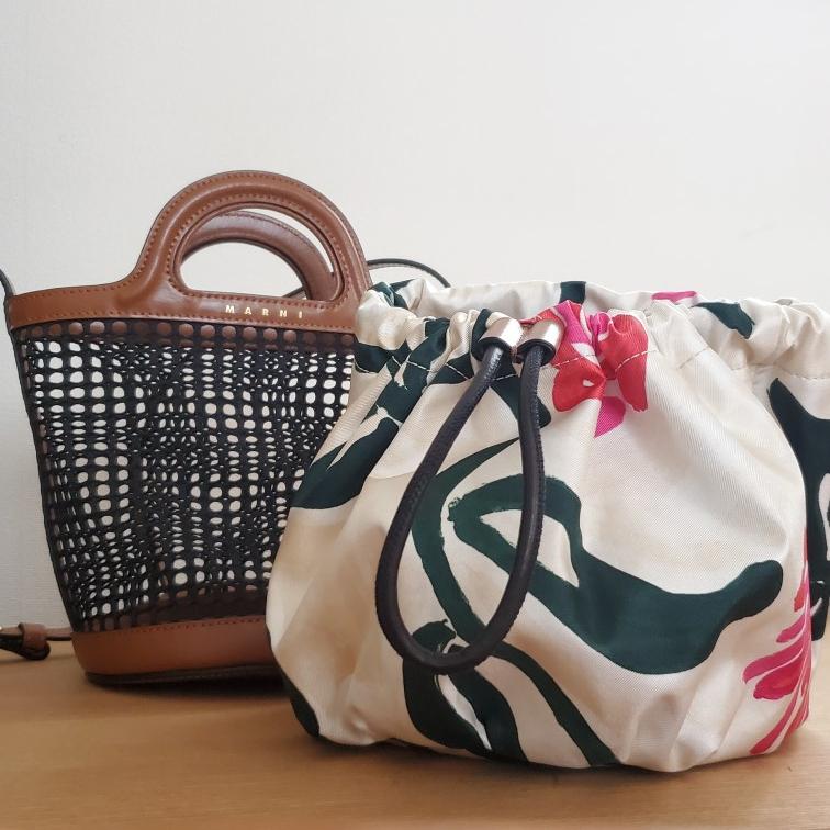 人気ブランド《夏のかごバッグ》バケツ型バッグでこなれ感【MARNI】_2