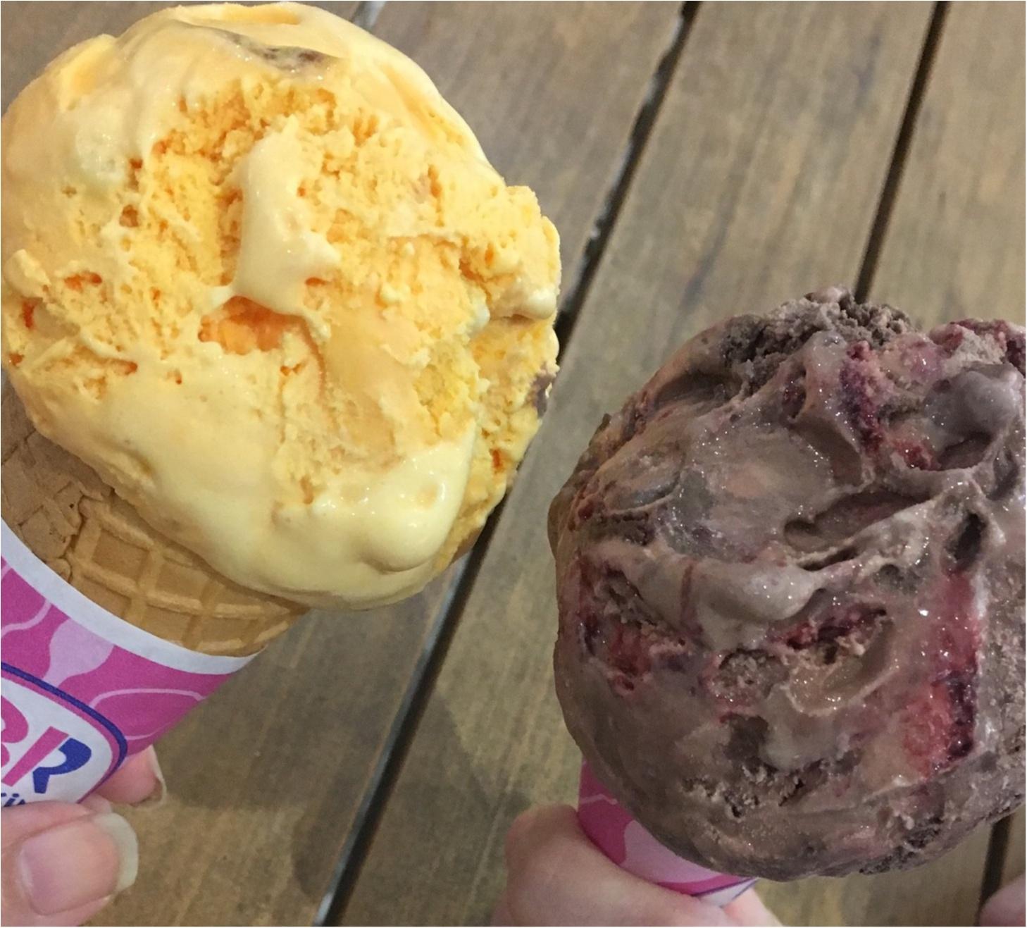 サーティワンの期間限定アイスを食べ比べしてみました♪_2