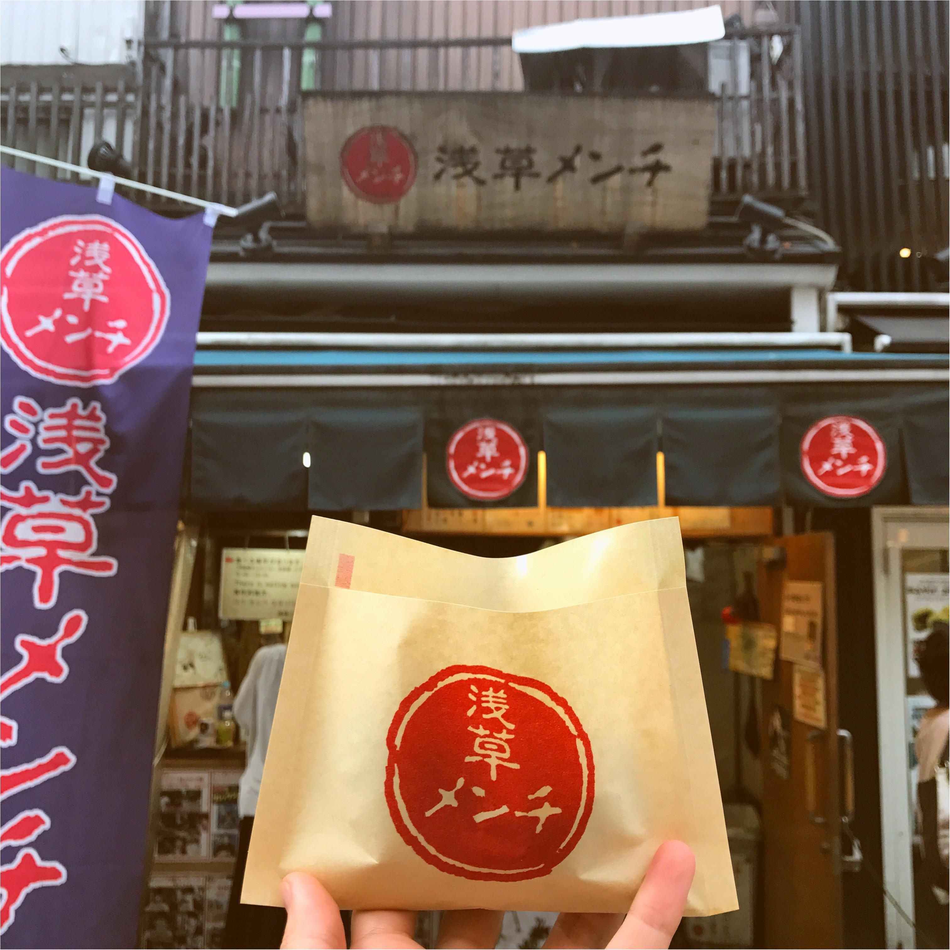 【FOOD】ご当地モア♡浅草グルメ!まずはこのコロッケを食すべし!!_1