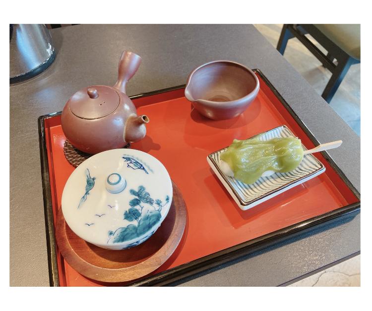 【亀さんのいる茶屋】新茶でホッと安らぐ_3