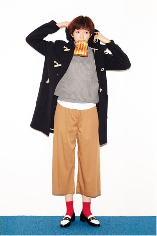 【今日のコーデ/佐藤栞里】朝寝坊しちゃった木曜日は技ありガウチョコーデ!_1
