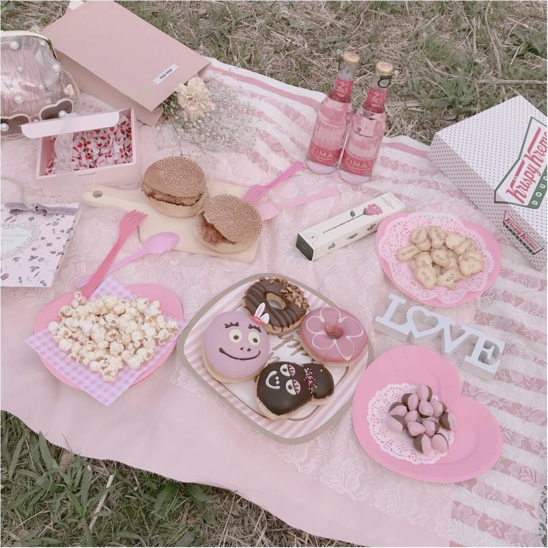 桜の下でピクニック❤︎簡単におしゃれでかわいい【おしゃピク】できます!_6