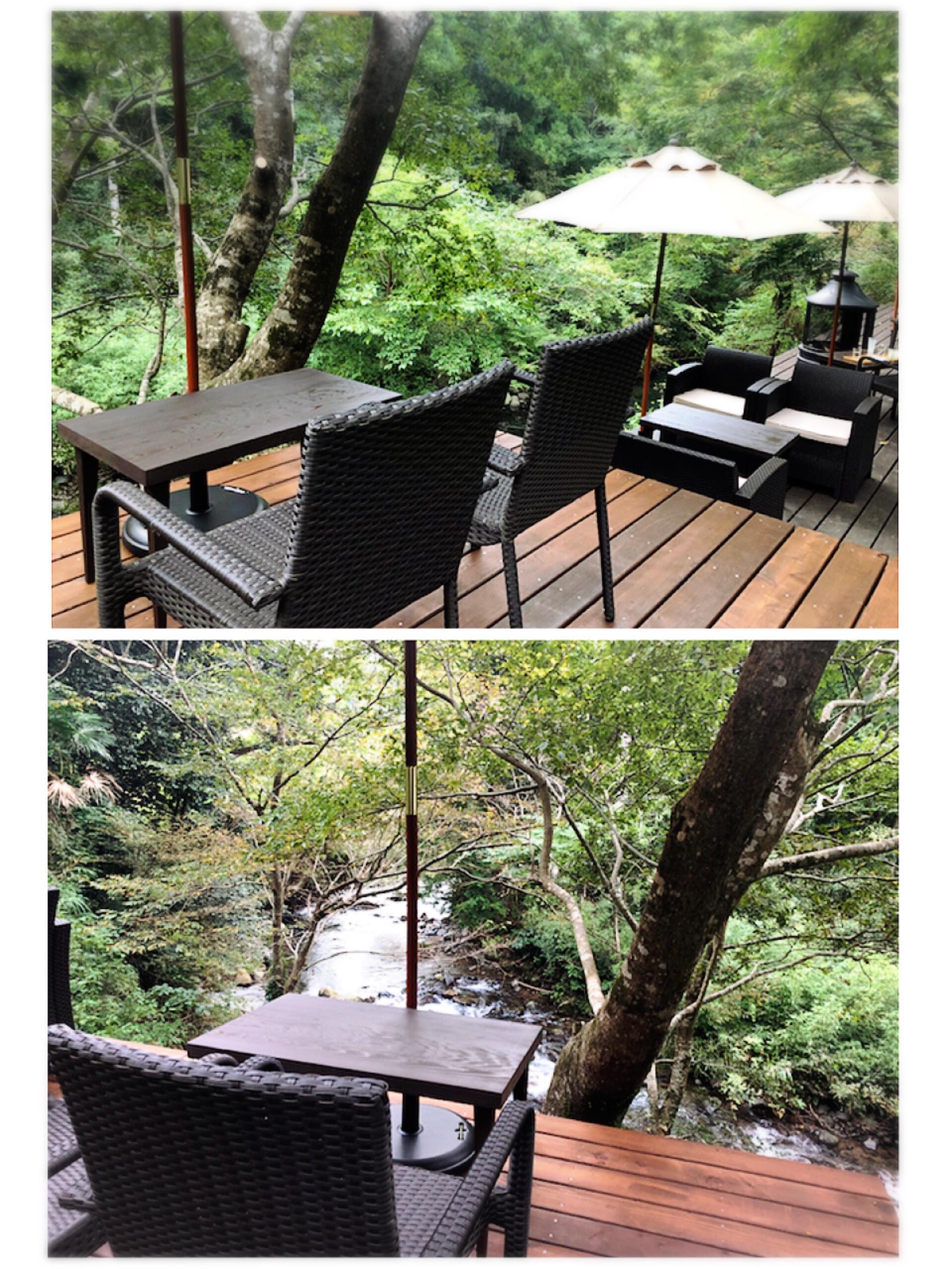 【#伊豆】渓流を眺めながら川床テラス席でリラックス♩静岡県産の抹茶が魅力!自然に癒されのんびりティータイムを☕︎_8