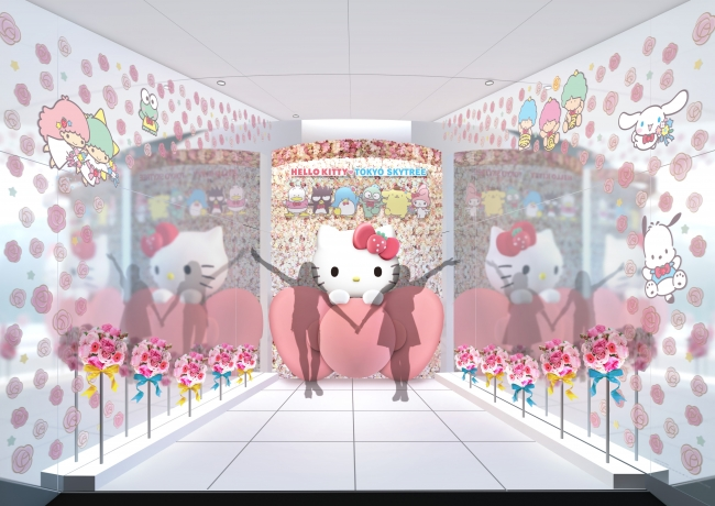 『東京スカイツリー®』でHELLO KITTY45周年スペシャルイベント「HELLO KITTY 雲の上のアニバーサリー in TOKYO SKYTREE®」開催♡ _5