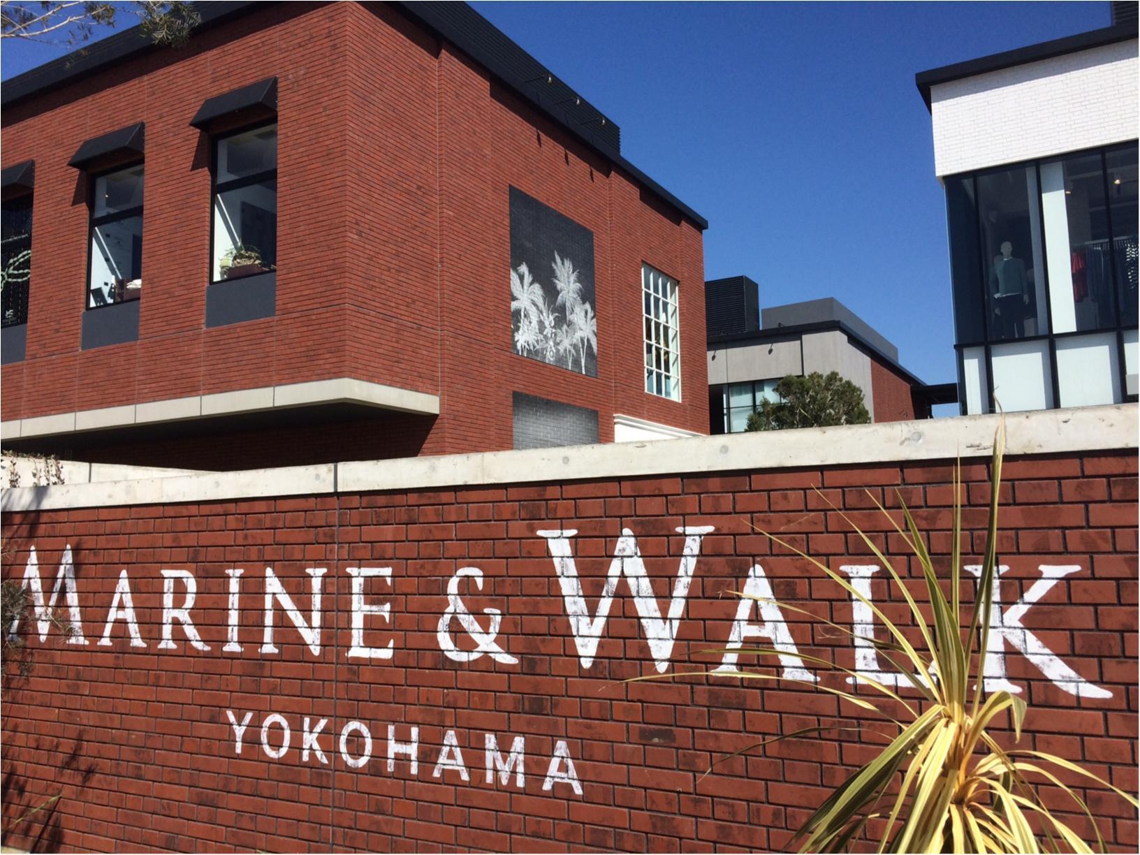 本日オープン! MARINE & WALK YOKOHAMAに潜入!【ファッション編】_1