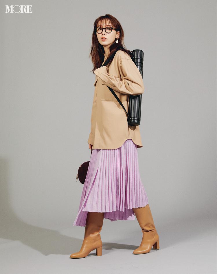 ニューノーマルな通勤服は「気分が上がるカラー」がいい! まずはボトムで取り入れるのが正解◎_4