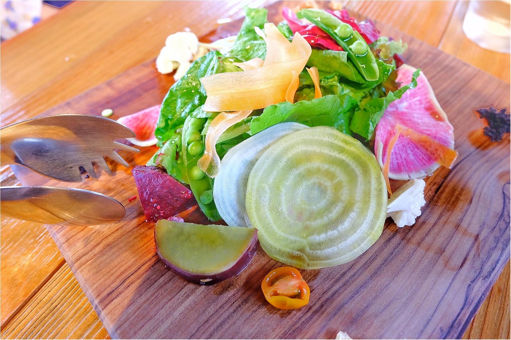 混まない穴場!カラフルで新鮮な鎌倉野菜が食べられるおしゃれレストラン♡_4