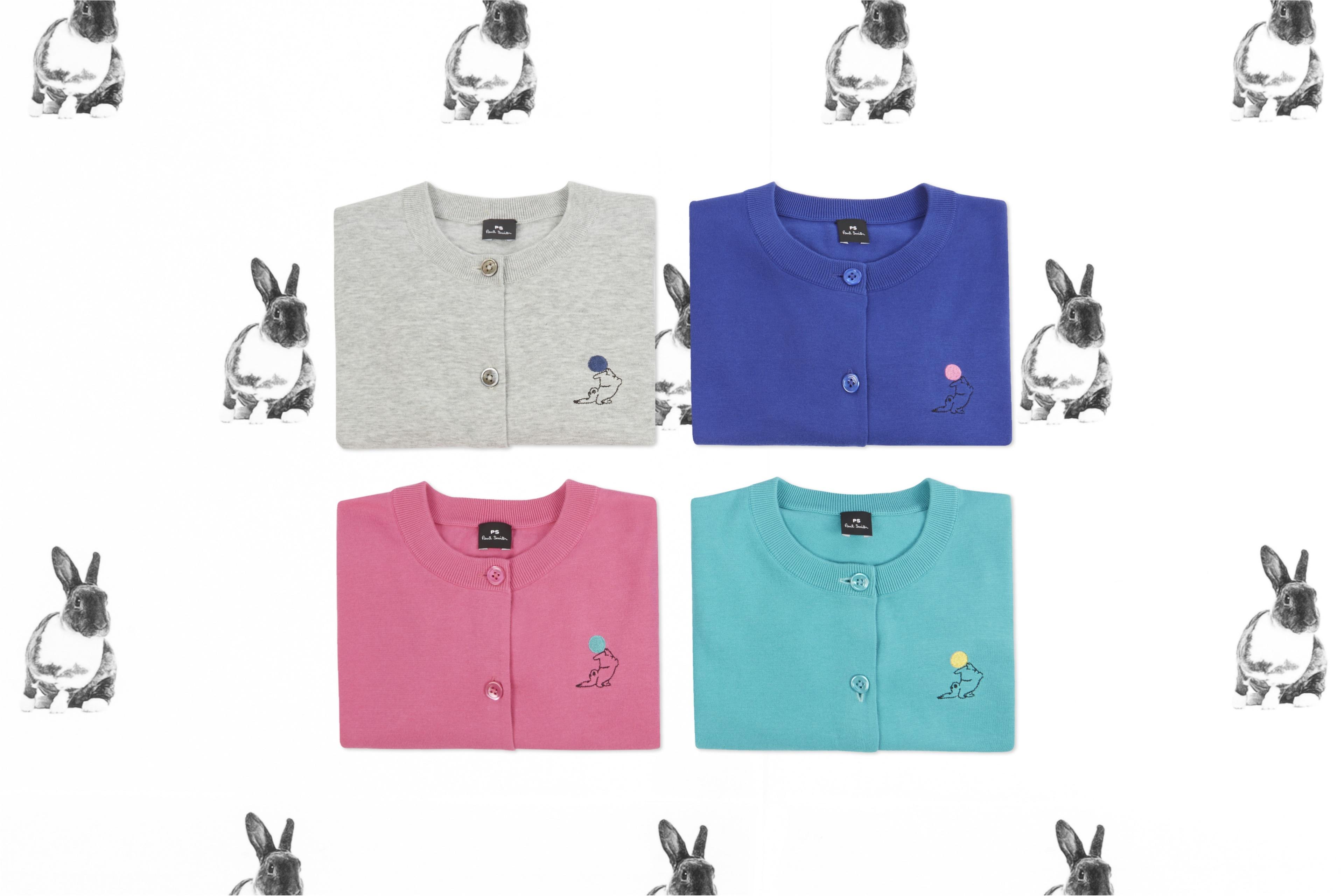 ラッキーアニマル・ウサギをモチーフにした『PS ポール・スミス』のカプセルコレクションに癒される♡_1_1